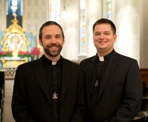 Father Andrew Gawrych and Father Jim Gallagher