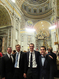 Holy Cross Old Collegians In Rome
