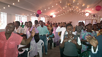 Meeting of a Peyton Prayer Guild in Kampala