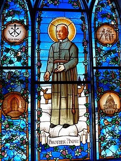 Saint Andre stained glass