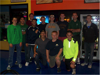 Old Collegians go bowling