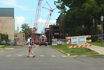 Construction on Campus