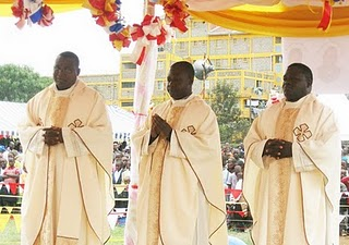 Ordinations in East AftricaFrom Left to Right:Rev