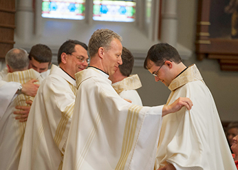 Fr Dan at his Ordination