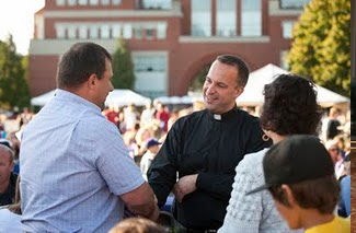 Fr Gerry Olinger at University of Portland