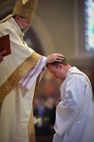 Fr Gerry Olinger being Ordained April 10, 2010