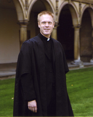Fr Kevin Grove, CSC studying at Cambridge