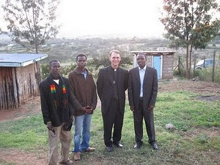 Fr Pat Neary, CSC in East Africa