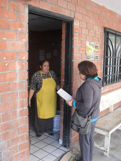 Going Door to Door
