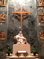 Our Lady of Sorrows chapel in the Basilica of the national shrine of the Immaculate Conception in Washington, DC