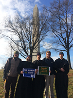 Holy Cross Seminarians in Washington DC for the March for Life