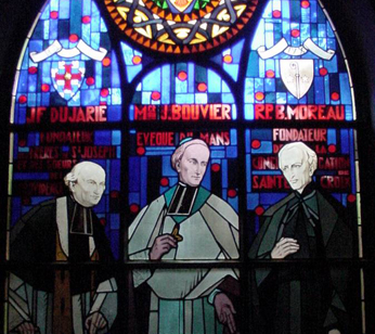Blessed Moreau, Fr Dujarie and bishop