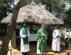Fr Pat Neary, CSC the missionary