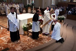 Priestly Ordination at the Basilica of the Sacred Heart