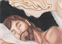 An Angel instructs St Joseph in a dream - from the Vocations Curriculum: Making God Known, Loved and Served