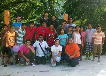 Students from Taman, Mexico