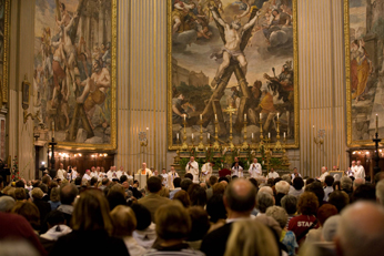 Mass of Thanksgiving at Sant Andrea della valle