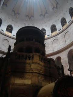 The Church built over Christ's tomb