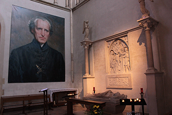 The Tomb of Blessed Basil Moreau