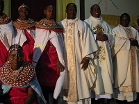 Several of our East African Holy Cross priests