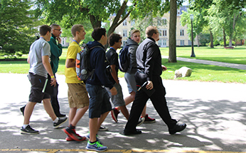 walking_across_campus
