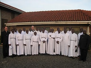 Holy Cross Seminarians in East Africa