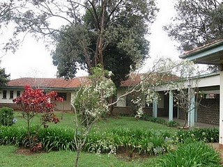 The Consolata property where our Holy Cross seminarians are living temporarily