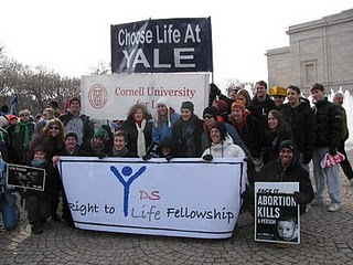 Fr Peter Walsh, CSC and CLAY in DC at the March for LIfe